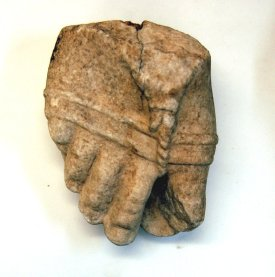 Colossal foot, probably Apollo