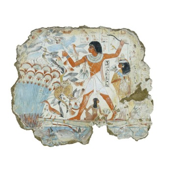 Nebamun hunting in the marshes
