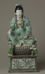 Seated Guanyin in the Lady Lever Art Gallery, National Museums and Galleries on Merseyside